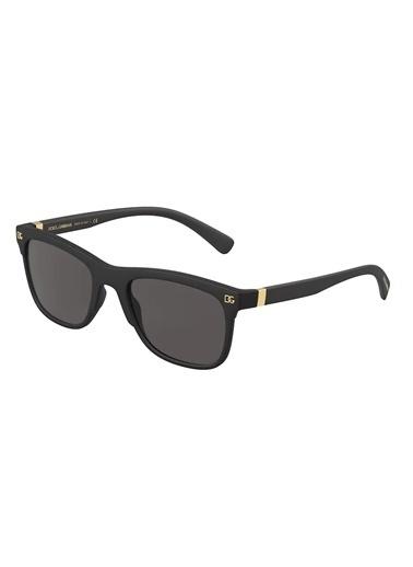 Dolce&Gabbana Dolce & Gabbana 0Dg6139 252587 54 Ekartman Erkek Güneş Gözlüğü Siyah